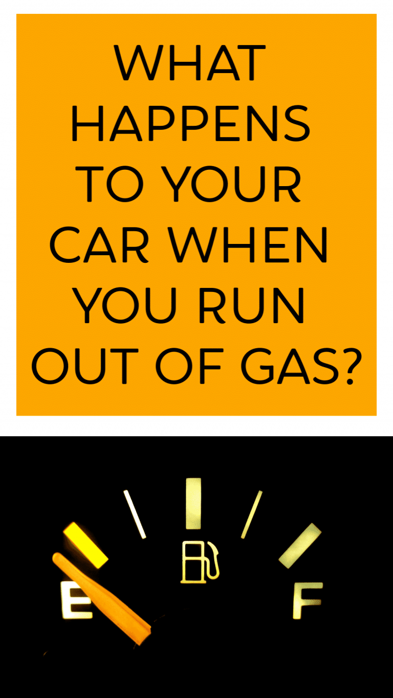 Car Run Out of Gas Sign