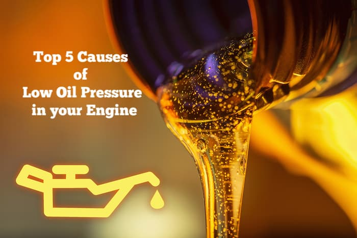 Causes of low oil pressure in your engine