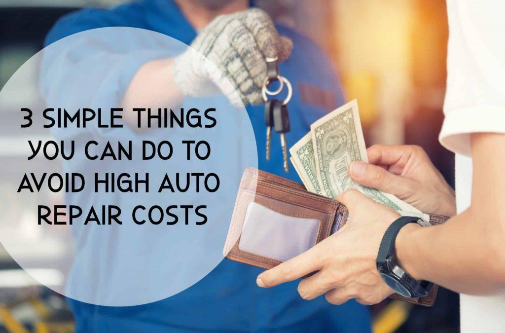 Customers pay car repairs by cash at car repair center